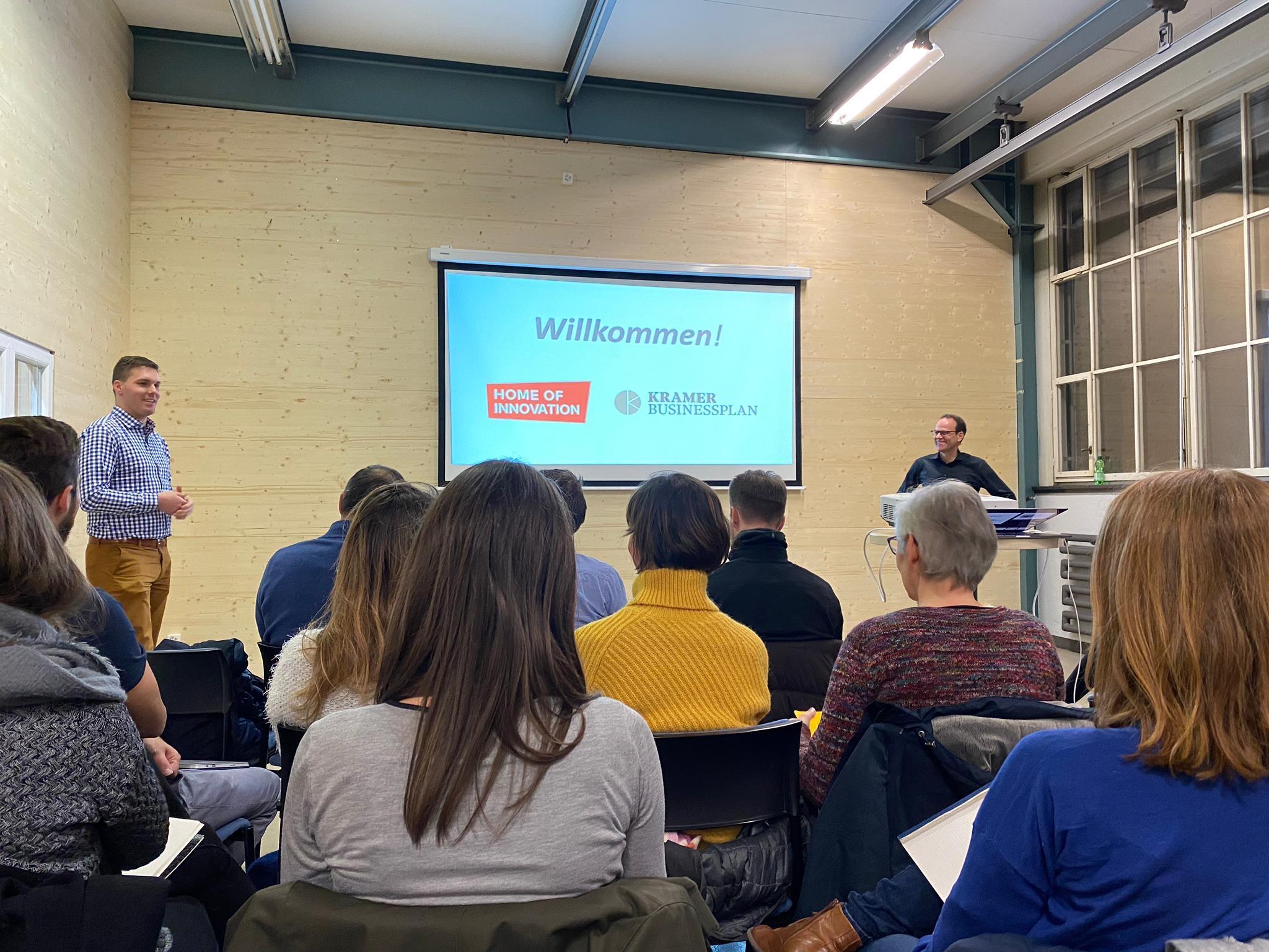 Bild Workshop im Home of Innovation