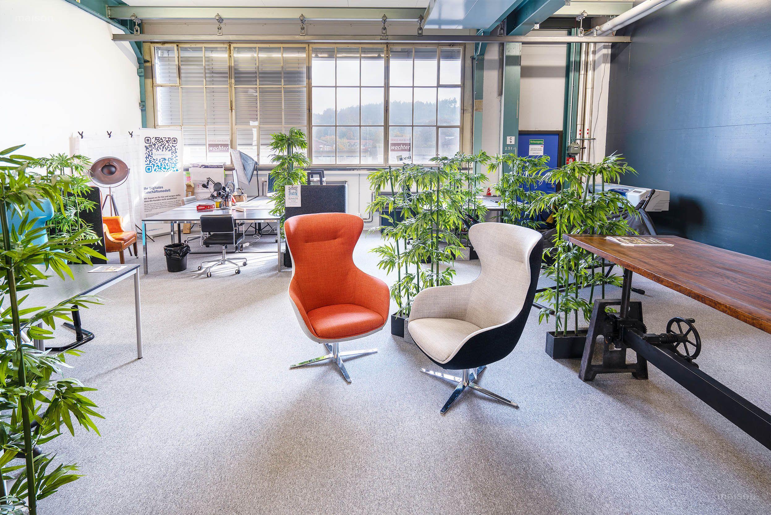 Foto Coworking Arbeitsplatz Home of Innovation Winterthur