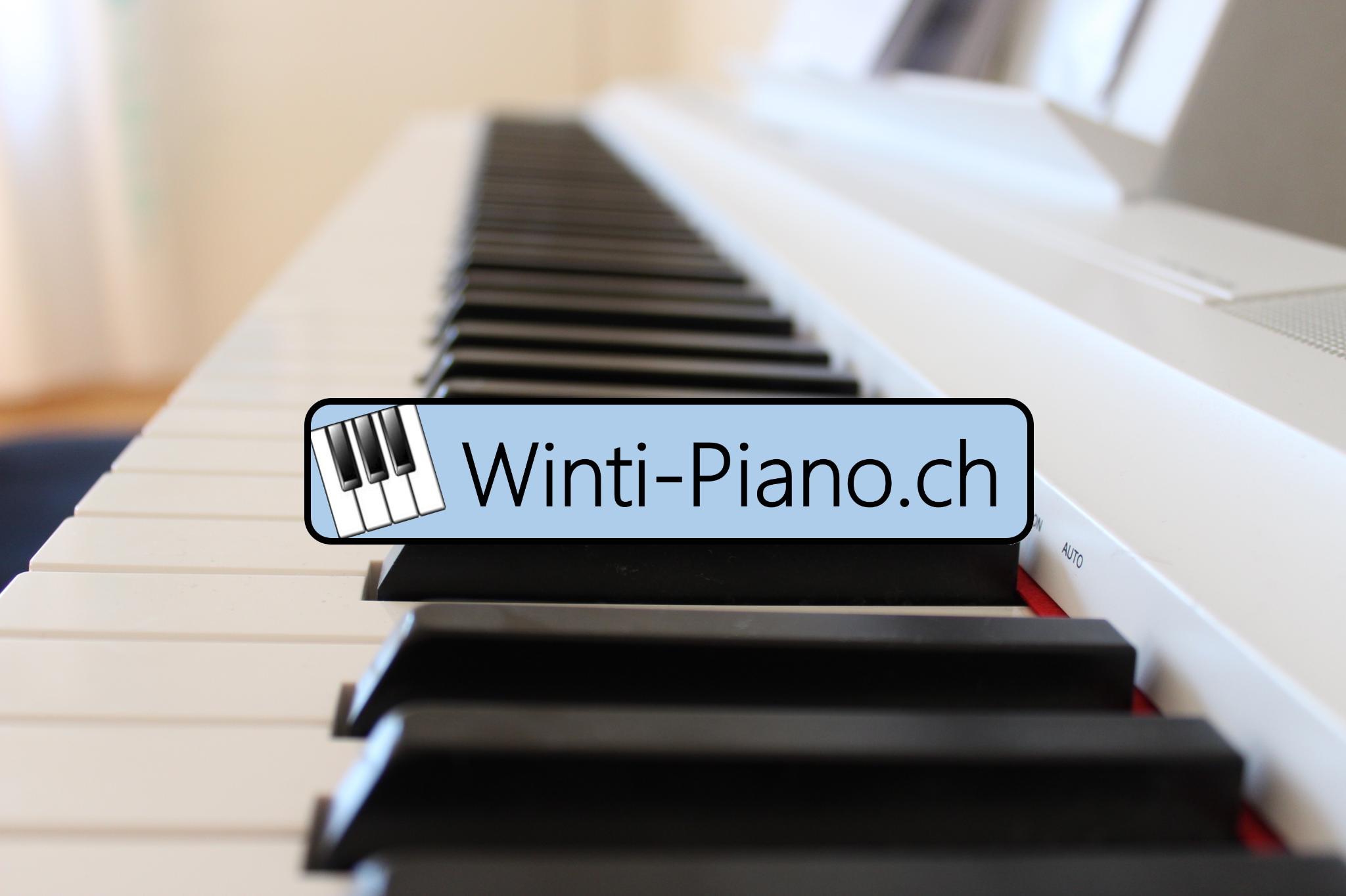 Winti Piano Klavier Tasten
